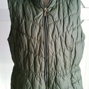 Coldwater Creek olive vest